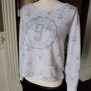 A&F Soft Floral Sweatshirt